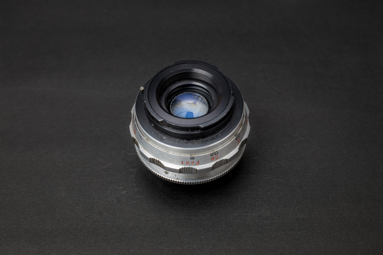 E. Ludwig Meritar 50mm f2.9 Back view