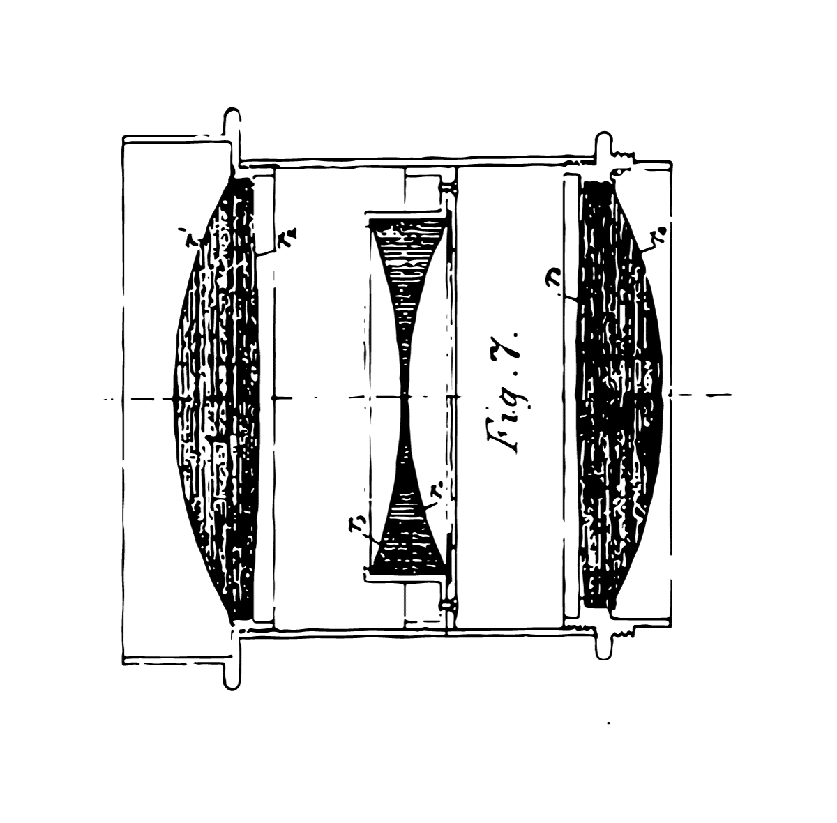 Cooke Triplet Diagram from Patent