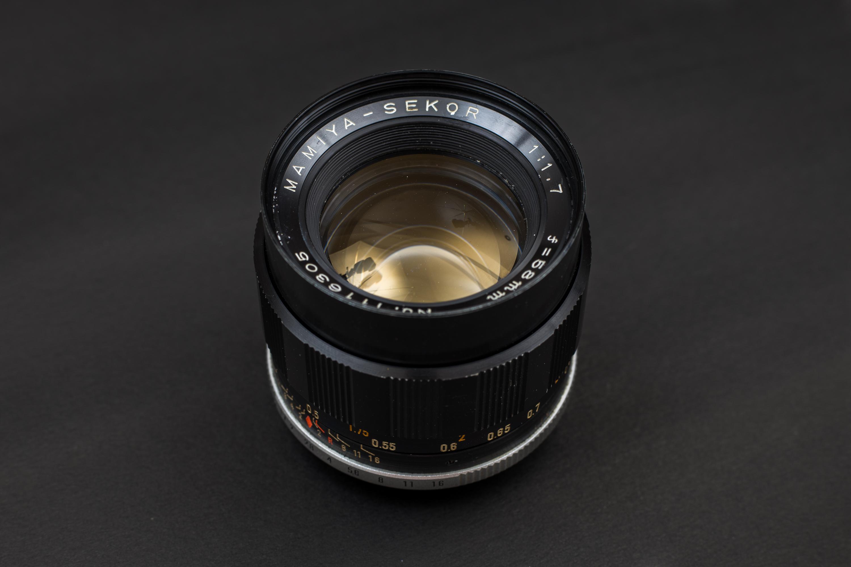 Mamiya 58mm f1.7 M42 Lens
