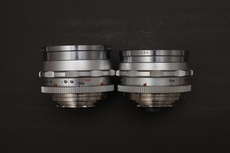 Side by side - v2 has the longer barrel