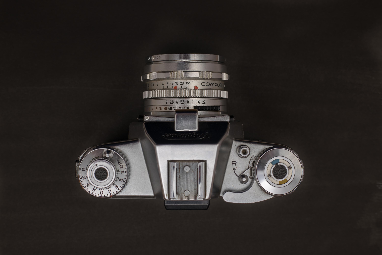 Top view of the Voigtländer Bessamatic camera