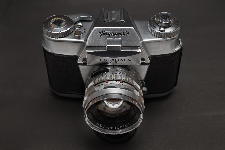Voigtländer Bessamatic Camera with Septon 50mm F2 lens