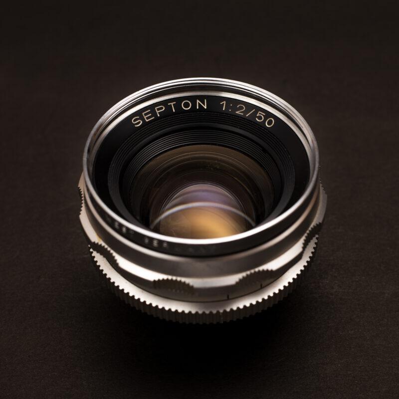 Voigtländer Septon 50mm f2 Lens