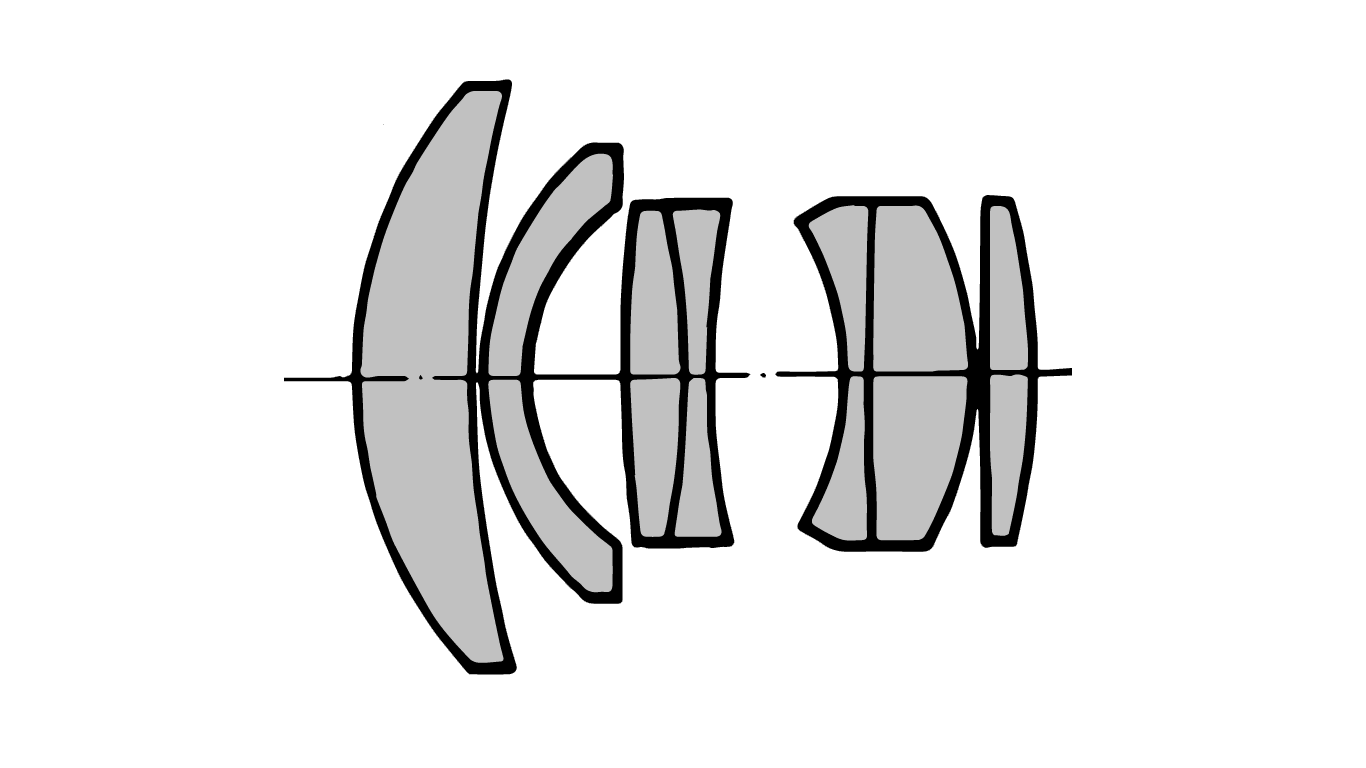 Diagram of the Septon 50mm f2