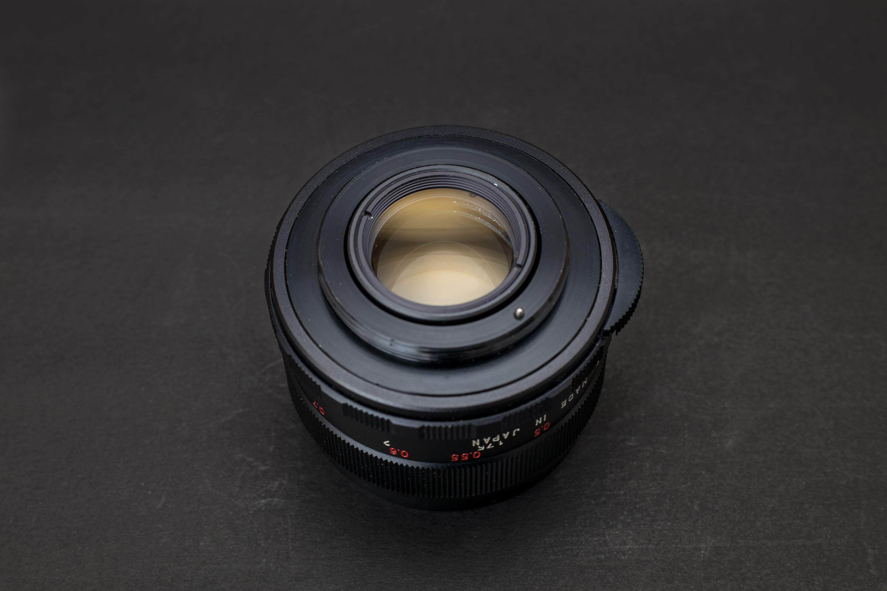 Mamiya Sekor 50mm f2 M42 Lens - Rear view
