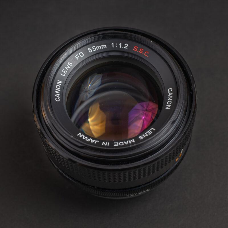 Canon FD 55mm f1.2 S.S.C.