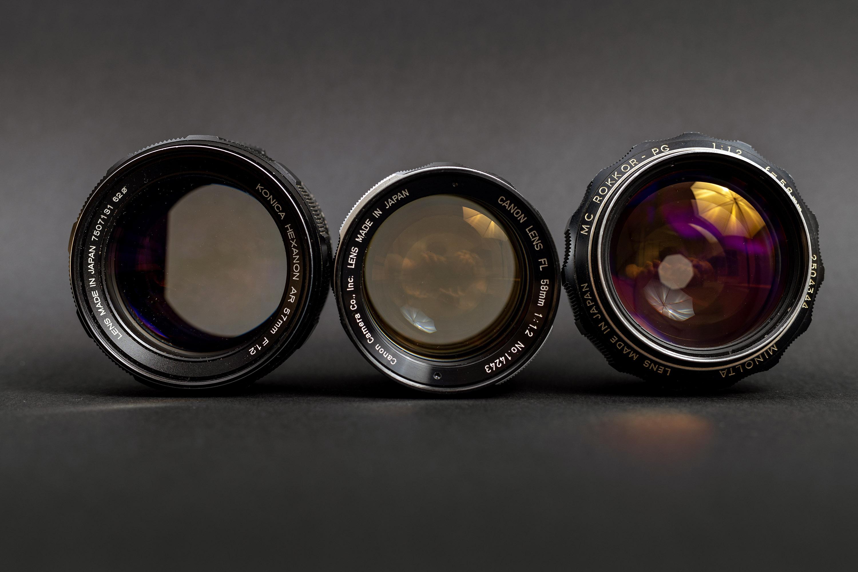 Radioactive Lenses