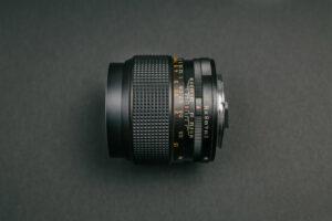 Konica Hexanon AR 35mm f2 - Side