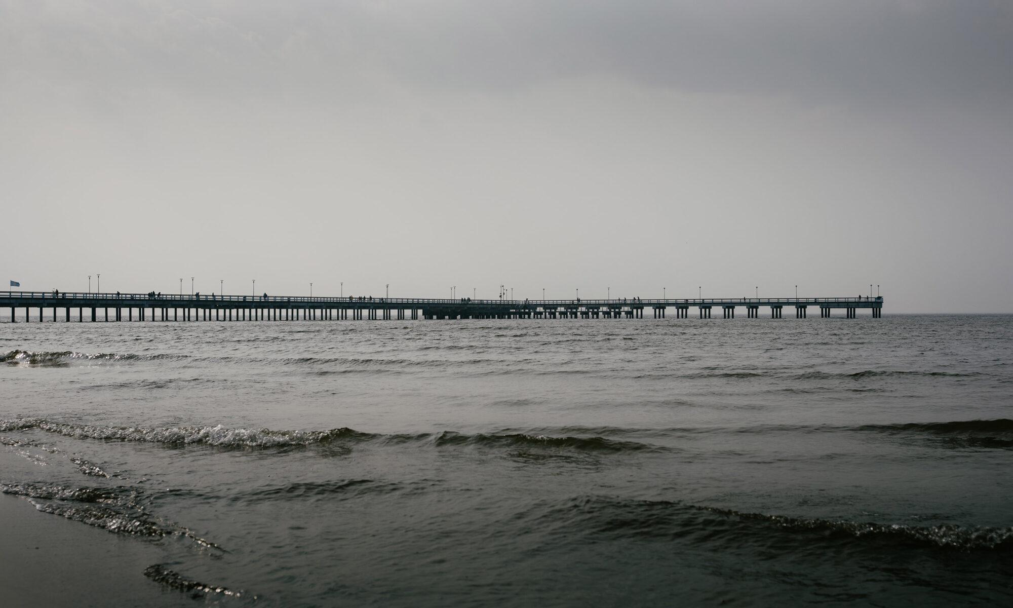 Palanga bridge, Lithuania. Shot with Carl Zeiss Contarex 50mm f2